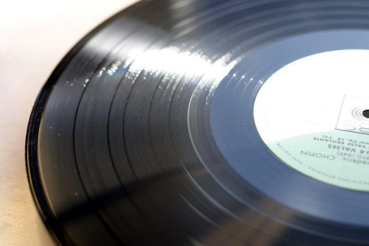Vinyle-propre